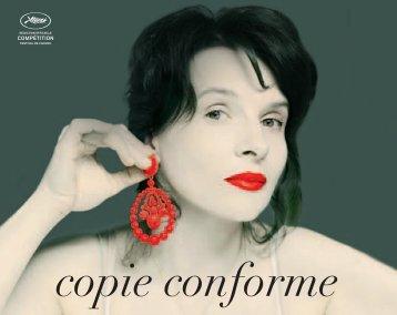 copie conforme - Festival de Cannes