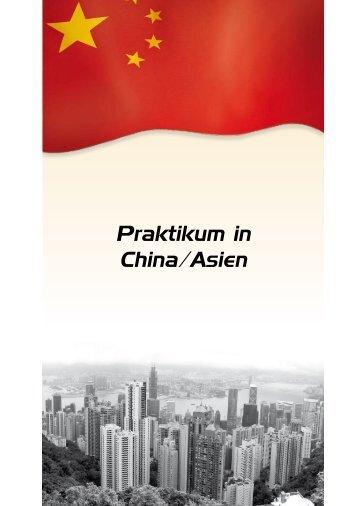 Praktikum in Spanien Praktikum in China/Asien - Praktika.de