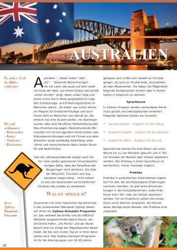 AUSTRALIEN - Praktika.de