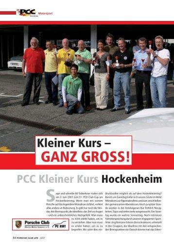PCC Hockenheim - Porsche Club Deutschland