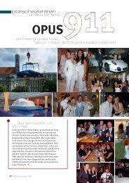 Opus 911 - Der neue 991 Turbo - Porsche Club Deutschland