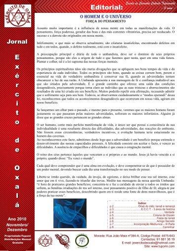Jornal Novembro e Dezembro de 2010