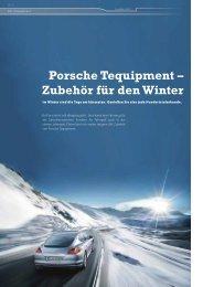 Tequipment - Porsche Club Deutschland