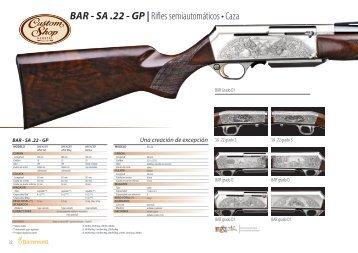 BAR - SA .22 - GP | Rifles semiautomáticos • Caza - Browning ...