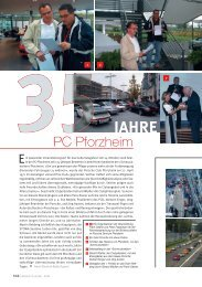 Porsche Club Life Magazin 4/06 - PC Pforzheim