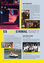 20 Jahre PC Life Magazin - Porsche Club Deutschland