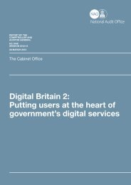 Digital Britain 2: Putting users at the heart of government's digital services