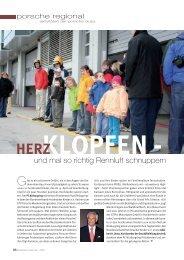 und mal so richtig Rennluft schnuppern - Porsche Club Deutschland