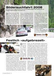 Bildersuchfahrt 2008 Festlich »aufgebrezelt« - Porsche Club ...