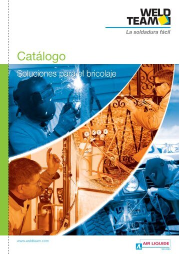 Catalogue WELDTEAM_Esp:Catalogue WELDTEAM - Oerlikon
