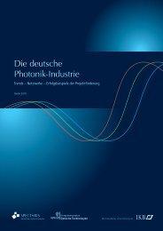 Studie Photonik 2010 - Photonics BW eV