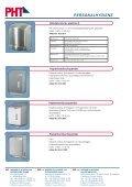 Handwaschbecken / Händetrockner / Papierspender - PHT - Seite 2