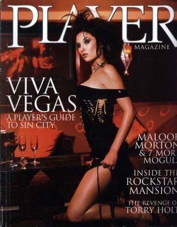 Player Magazine - Ad Notam