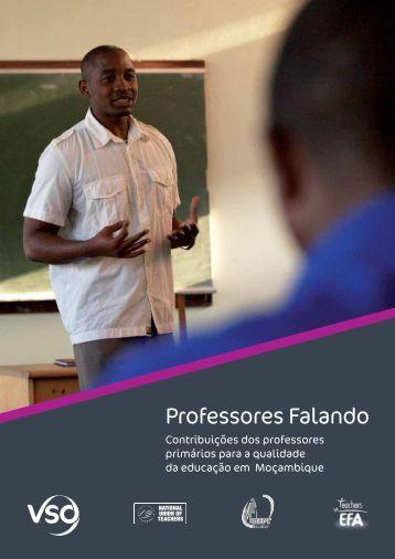 'Para professores' e - VSO