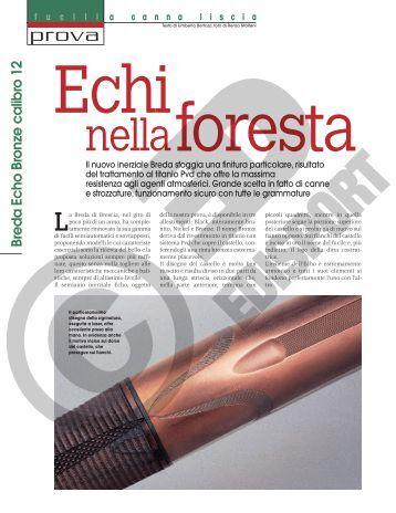 fuciliacannaliscia Breda Echo Bronze calibro 12 - HNCF