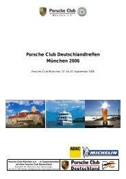 Broschüre - Porsche Club Deutschland