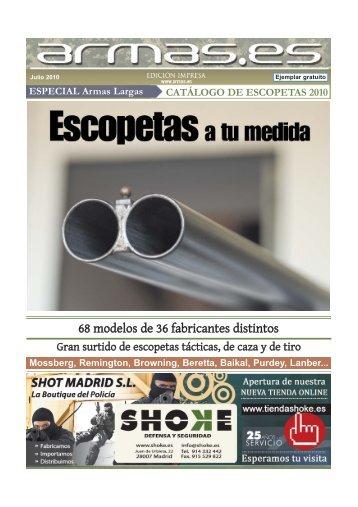 68 modelos de 36 fabricantes distintos - Armas.es