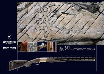 Browning International - Custom Shop - Winchester - Miroku