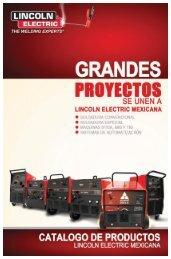 soldadoras de electrodo - Lincoln Electric México