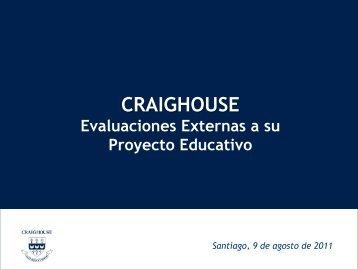 Puntaje PSU - Craighouse