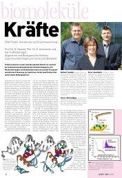 24 Prof. Dr. N. Sewald, Prof. Dr. D. Anselmetti und Katrin ...
