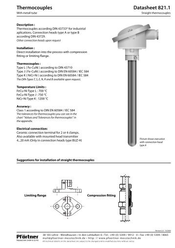 American Water Heater Thermocouple : Thermocouple replacement instructions