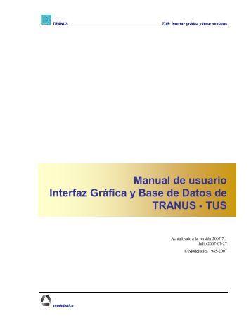 TUS: Interfaz gráfica y base de datos - Bitbucket