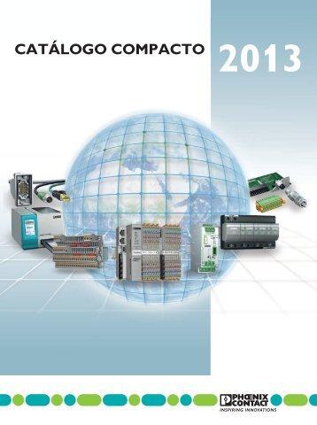 Catálogo Compacto 2013 (PDF 35,96 MB) - Phoenix Contact