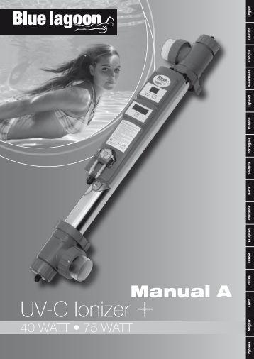 UV-C Ionizer + - Bluelagoonuvc.nl