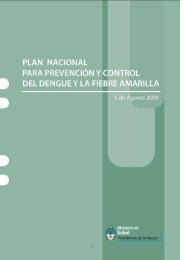 Plan nacional para prevención y control del dengue y la fiebre ...