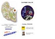 OLDTIMER RALLYE Sonntag 29.08.2010 - AC Ebern