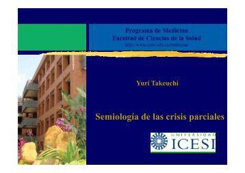 Semiología de las crisis parciales - Biblioteca Digital - Universidad ...