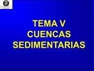 5.-Cuencas sedimentarias