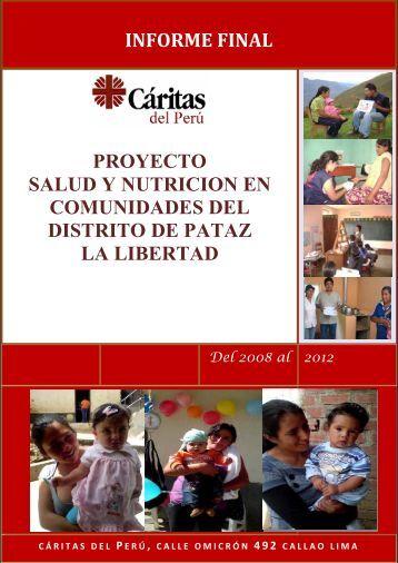 Informe Final del Proyecto - Cáritas del Perú