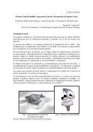 CASO CLÍNICO Prótesis Total de Rodilla. Experiencia ... - SciELO