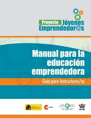 Manual para la educación emprendedora - IDIE-OEI