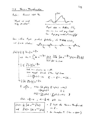 Fourier-Trafo