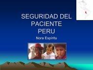 SEGURIDAD DEL PACIENTE PERU