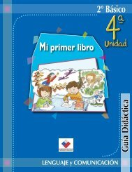 2° Básico Mi primer libro - Biblioteca UAH - Universidad Alberto ...