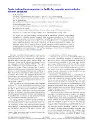 "Carrier-induced ferromagnetism in Ge""Mn,Fe… magnetic ... - Physik"
