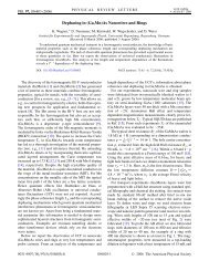 Dephasing in (Ga,Mn)As Nanowires and Rings - Physik - Universität ...