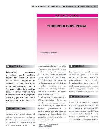 TUBERCULOSIS RENAL - Binasss