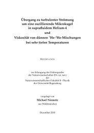 Text & Bilder - Physik - Universität Regensburg