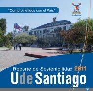 Reporte de Sostenibilidad 2011 - Universidad de Santiago de Chile