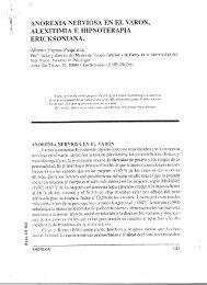 Anorexia nerviosa en el varón, alexitimia e hipnoterapia ...