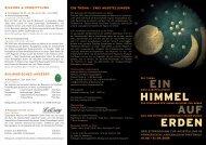 EIN HIMMEL AUF ERDEN - Pommersches Landesmuseum