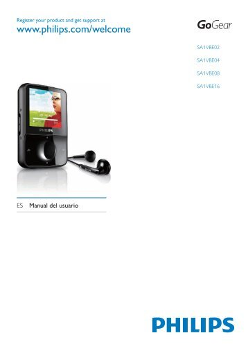 SA1VBE Spanish user manual - Philips