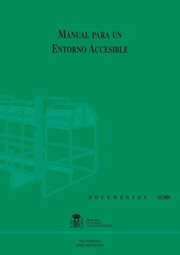 Manual para un entorno accesible - Servicio de Información sobre ...