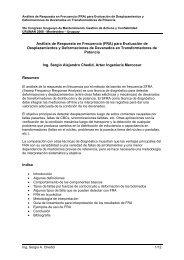Análisis de Respuesta en Frecuencia (FRA) para ... - Uruman
