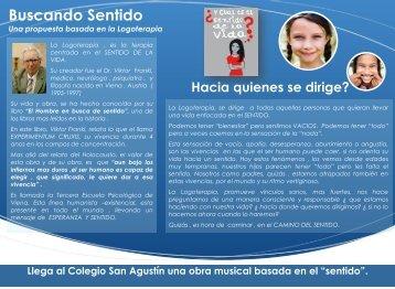 Buscando Sentido - Colegio San Agustín